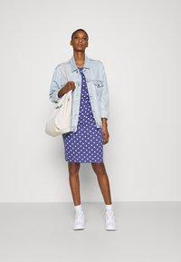 Anna Field - Vestido de tubo - white/blue - 1