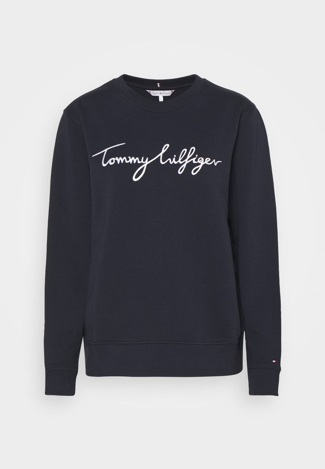 REGULAR GRAPHIC - Sweatshirt - blue