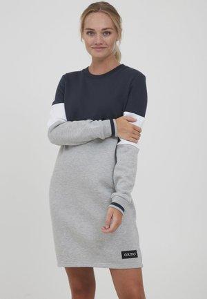 SWEAT OMILA - Jersey dress - insignia blue