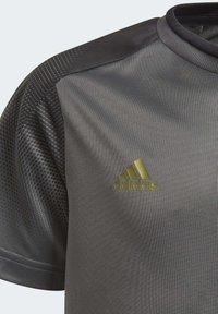 adidas Performance - FOOTBALL INSPIRED X AEROREADY JERSEY - Print T-shirt - grey - 6