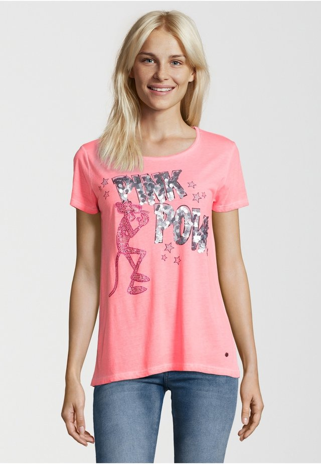 PINK PANTHER II - T-shirt print - neon orange