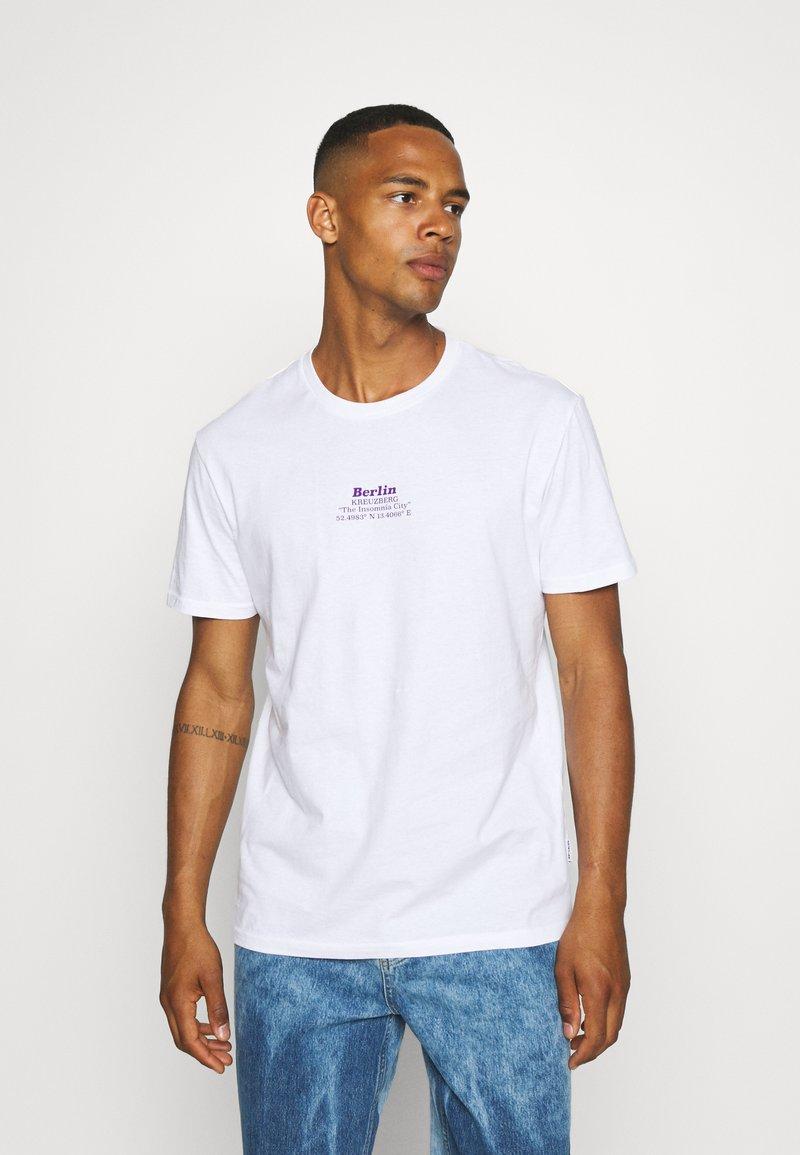 YOURTURN - UNISEX - T-shirt imprimé - white