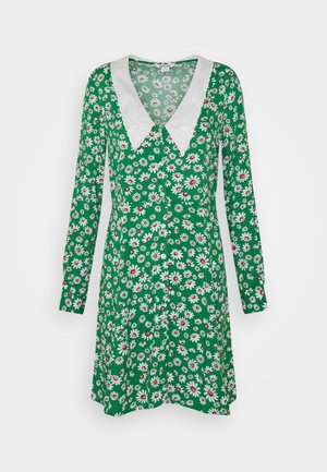 NOOMI DRESS - Shirt dress - green