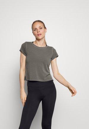 GARMENT DYE - T-shirts - anthracite