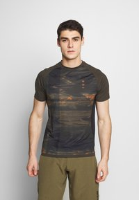 ION - TEE TRAZE - T-Shirt print - root brown - 0