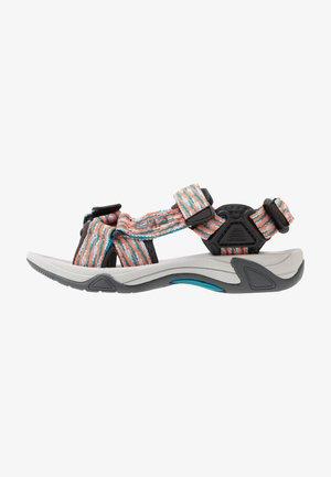 KIDS HAMAL HIKING  - Walking sandals - rif/flash orange