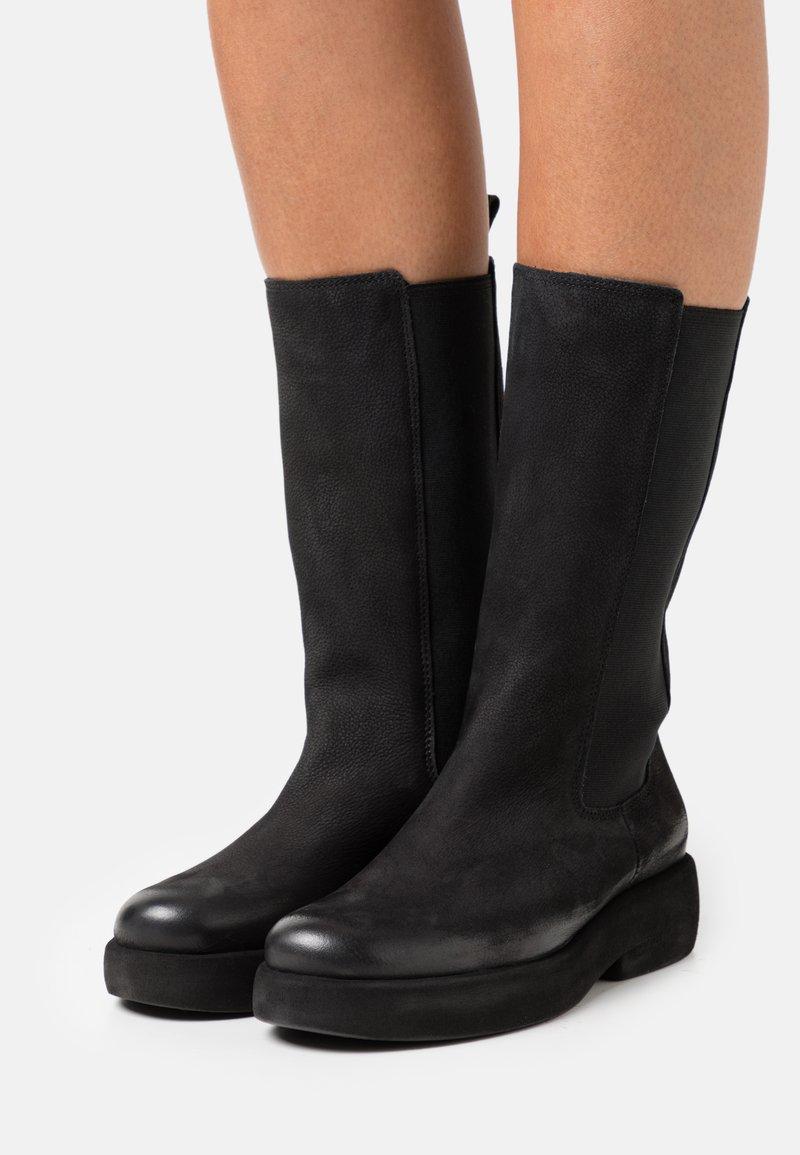 Felmini - EXTRA - Platform boots - pacific black