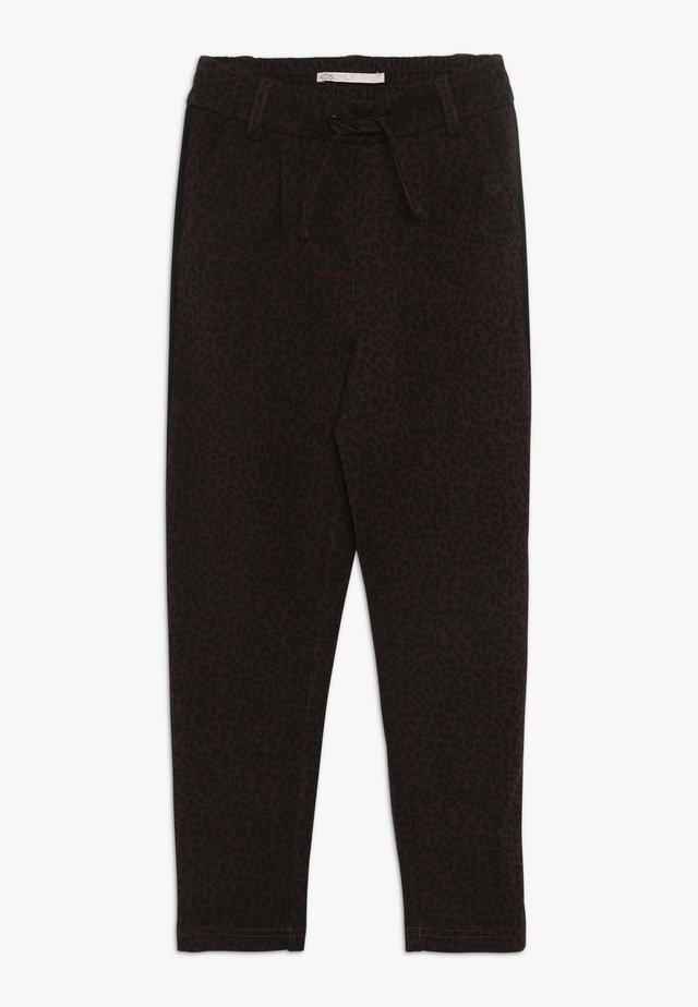 KONPOPTRASH LEO PANEL PANT - Pantaloni - black
