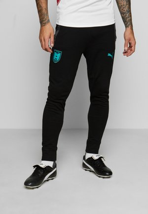 ÖSTERREICH ÖFB CASUALS - National team wear - black/blue turquoise