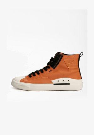 EDERLE LOGODREIECK - Sneakers hoog - orange