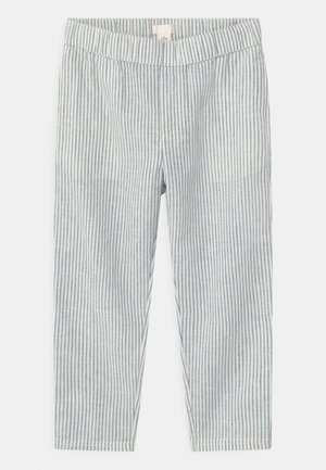 Trousers - white/blue