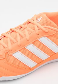 adidas Performance - SUPER SALA - Indoor football boots - orange/footwear white - 5