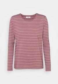 ESNA TEE - Long sleeved top - rose/elderberry
