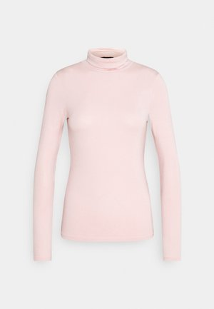 ROLL NECK - Long sleeved top - light pink