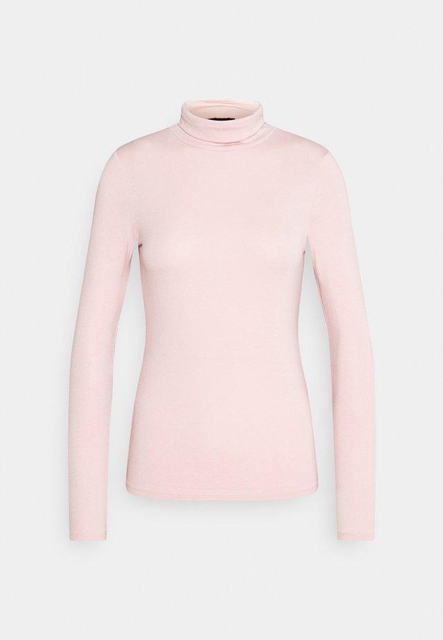 ROLL NECK - Top sdlouhým rukávem - light pink