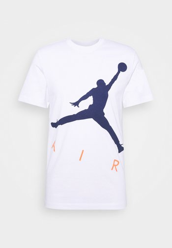 JUMPMAN AIR CREW - T-shirt con stampa - white/blue void
