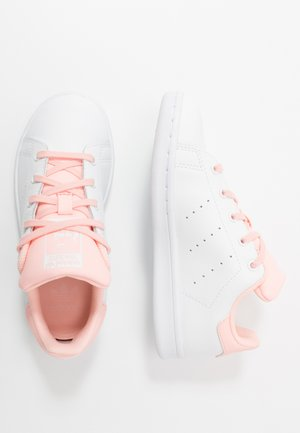 STAN SMITH UNISEX - Sneaker low - footwear white/haze coral