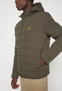 Lyle & Scott - LIGHTWEIGHT JACKET - Allvädersjacka - trek green - 5