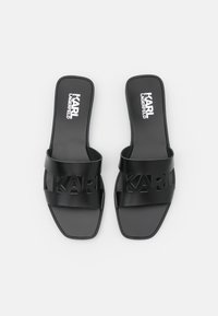 KARL LAGERFELD - SKOOT KUT OUT - Mules - black - 4