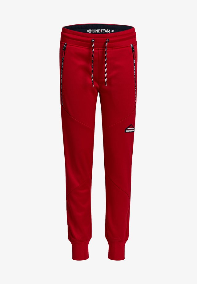 BIKERDETAILS - Pantaloni sportivi - red