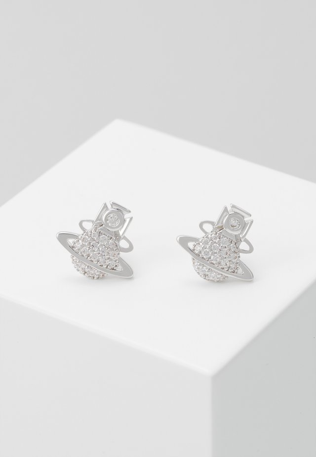 TAMIA EARRINGS - Pendientes - silver-coloured