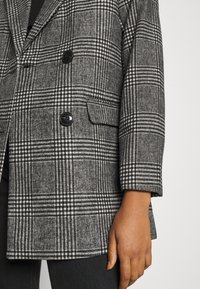 New Look - EMMA CHECK COAT - Short coat - grey - 5