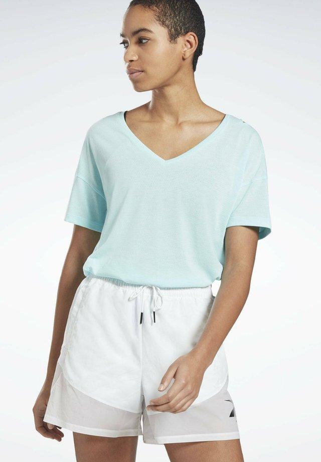 ACTIVCHILL+COTTON T-SHIRT - T-shirt de sport - blue