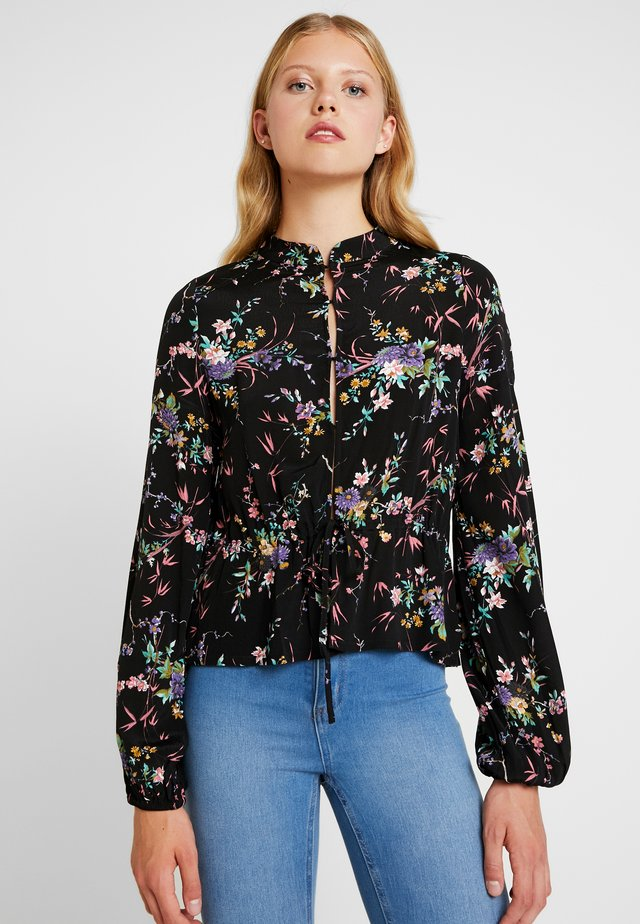 ELLA MEADOW BLOUSE - Camicetta - black