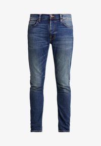 Nudie Jeans - LEAN DEAN - Slim fit -farkut - indigo shades - 4