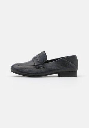 MELISSA - Slip-ons - tamponada black