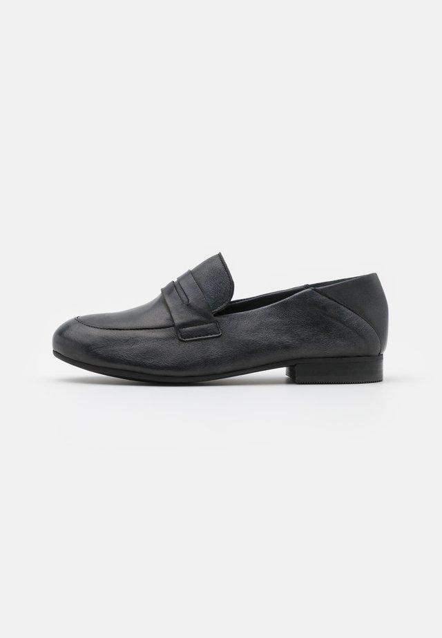 MELISSA - Mocassins - tamponada black