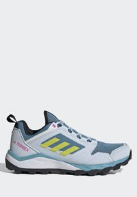adidas Performance - TERREX AGRAVIC TR - Fjellsko - hazy blue/acid yellow/crystal white - 7