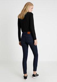 J.CREW TALL - TOOTHPICK - Slim fit jeans - dark blue - 2