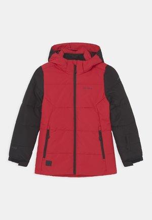 LORIS JR UNISEX - Snowboard jacket - burgundy