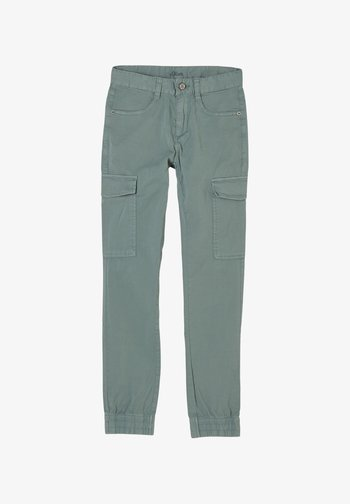 Cargo trousers - petrol