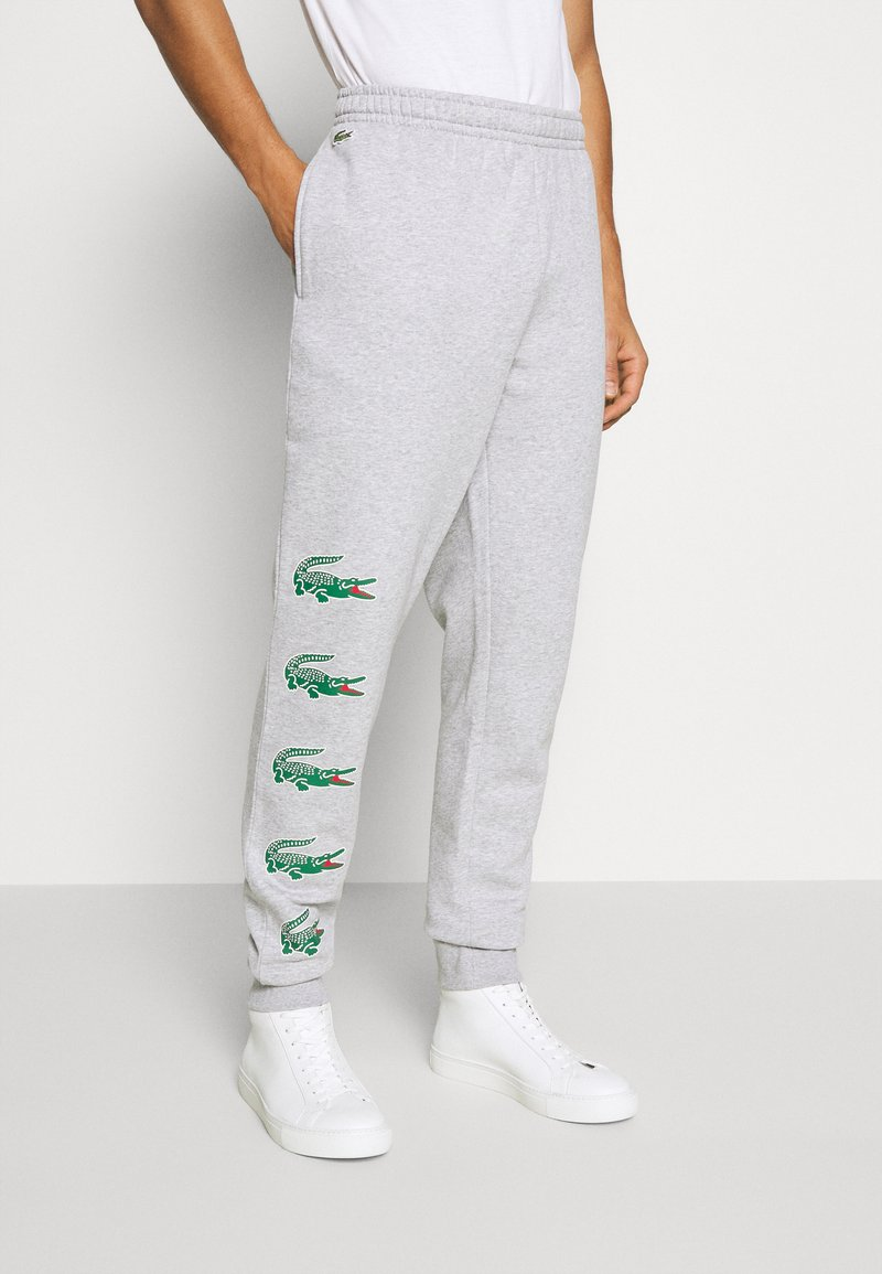 Lacoste - Spodnie treningowe - argent chine