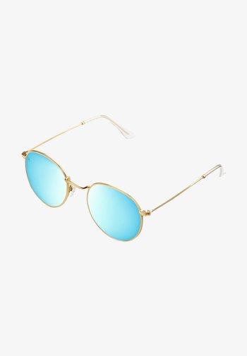 Sunglasses - gold sky