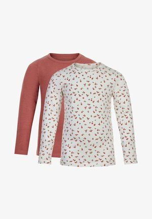 2 PACK - Long sleeved top - canyon rose