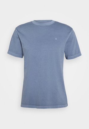 BUTLER TEE EMBROIDERY - T-shirt basique - washed blue
