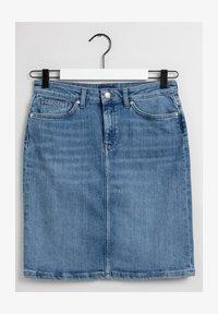 GANT - Denim skirt - light blue worn in - 1