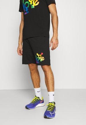 LOVE SHORTS - kurze Sporthose - black/multi colour
