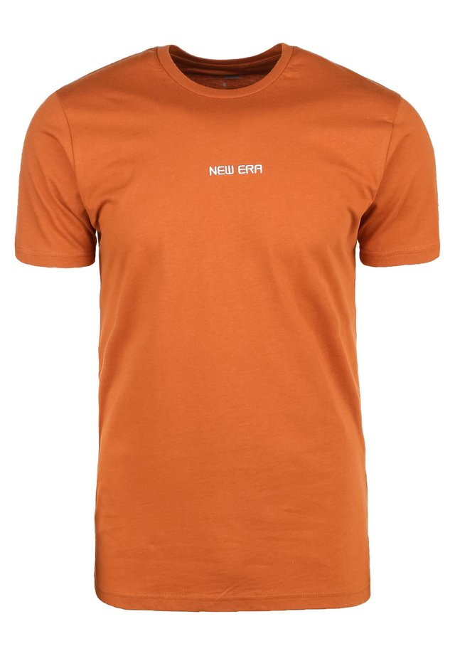 ESSENTIAL T-SHIRT HERREN - T-shirt imprimé - rust / copper