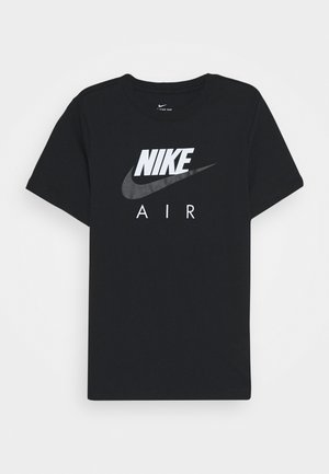 AIR - T-shirt z nadrukiem - black