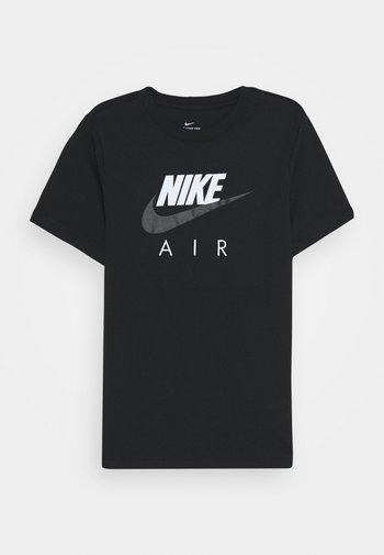 AIR TEE - Printtipaita - black