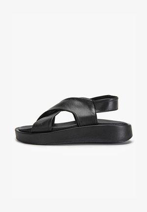 Sandales compensées - black blk