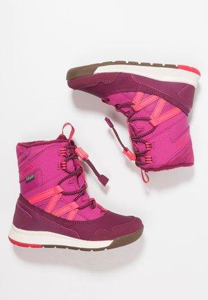 M-SNOW CRUSH WTRPF - Winter boots - berry