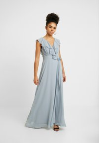 TFNC Petite - JANEAN MAXI WRAP - Occasion wear - grey blue - 0