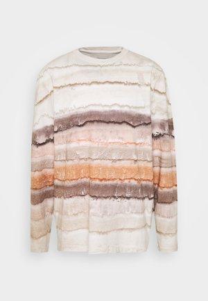 SEDIMENTS - Långärmad tröja - beige mix