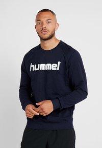 Hummel - GO LOGO - Sweatshirt - marine - 0