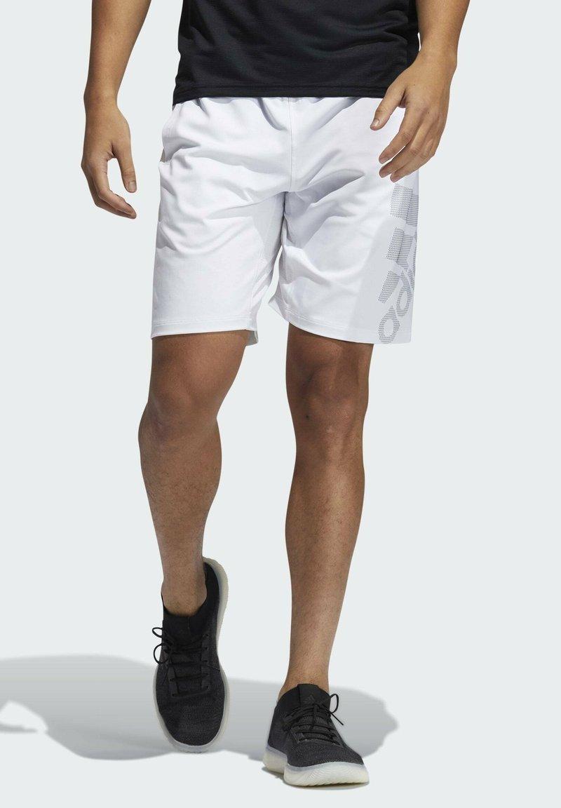 adidas Performance - 4KRFT SPORT GRAPHIC SHORTS - Träningsshorts - white